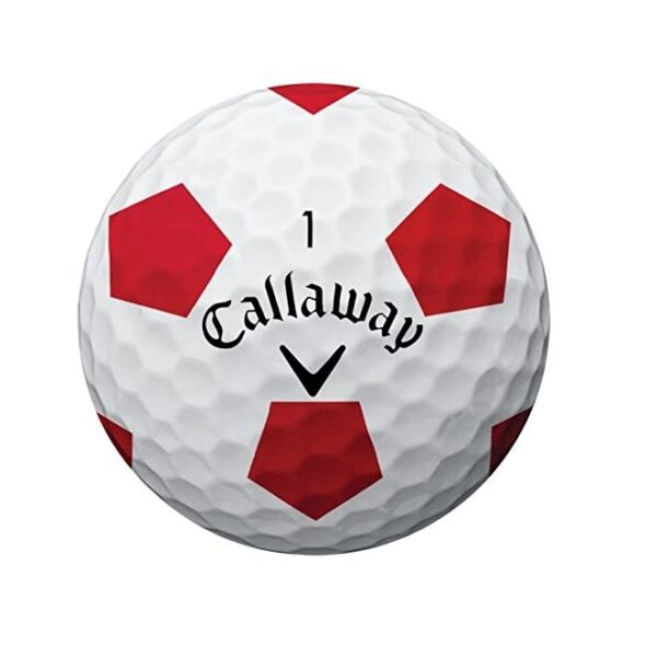 Callaway Golf Chrome Soft Truvis Golf Balls, (One Dozen), Prior Generation